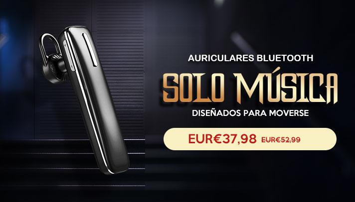 Auriculares Estereo Bluetooth Auricular Inalambricos H49 Negro