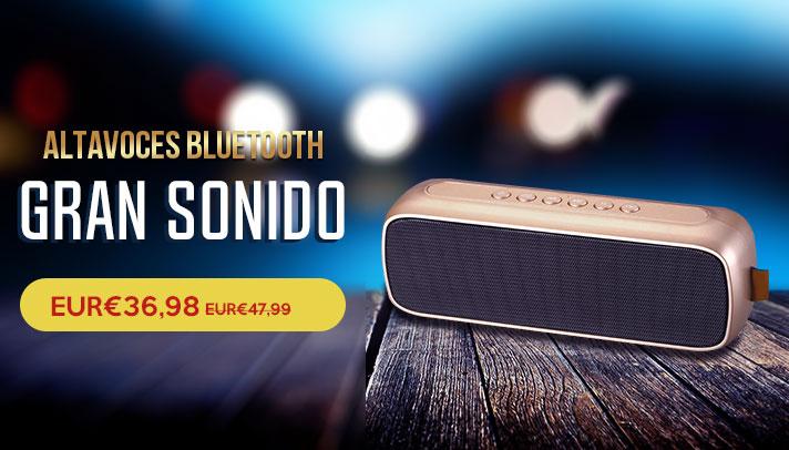 Mini Altavoz Portatil Bluetooth Inalambrico Altavoces Estereo S09 Marron