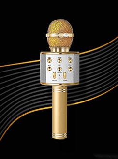 Karaok Micrófono para Teléfono