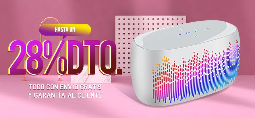 Mini Altavoz Portatil Bluetooth Inalambrico Altavoces Estereo S06 Blanco