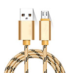 Cable Micro USB Android Universal M01 Oro