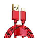Cable Type-C Android Universal T09 Rojo