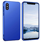 Funda Dura Plastico Rigida Carcasa Mate M03 para Xiaomi Mi 8 Pro Global Version Azul