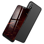 Funda Silicona Ultrafina Goma S04 para Xiaomi Mi 8 Pro Global Version Negro