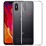 Funda Silicona Ultrafina Transparente para Xiaomi Mi 8 Pro Global Version Claro