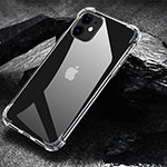 Funda Silicona Ultrafina Transparente U01 para Apple iPhone 11 Claro
