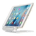 Soporte Universal Sostenedor De Tableta Tablets Flexible K14 para Apple New iPad 9.7 (2018) Plata