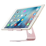 Soporte Universal Sostenedor De Tableta Tablets Flexible K15 para Apple New iPad 9.7 (2018) Oro Rosa