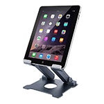 Soporte Universal Sostenedor De Tableta Tablets Flexible K18 para Apple New iPad 9.7 (2018) Gris Oscuro