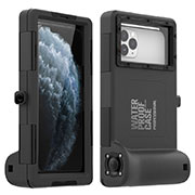 Funda Impermeable Bumper Silicona y Plastico Waterproof Carcasa 360 Grados Cover para Apple iPhone 11 Negro