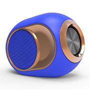 Mini Altavoz Portatil Bluetooth Inalambrico Altavoces Estereo K05 Azul