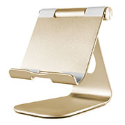 Soporte Universal Sostenedor De Tableta Tablets Flexible K23 para Apple New iPad 9.7 (2018) Oro