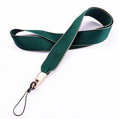 Acollador Correa de Cuello Cordon Lanyard N08 para Huawei Honor Magic 2 Verde
