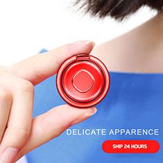Anillo de dedo Soporte Universal Sostenedor De Telefono Movil Rojo