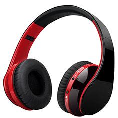 Auricular Cascos Estereo Bluetooth Auriculares Inalambricos H72 Rojo