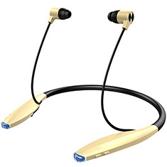 Auriculares Bluetooth Auricular Estereo Inalambricos H51 para Apple iPad Mini 4 Oro