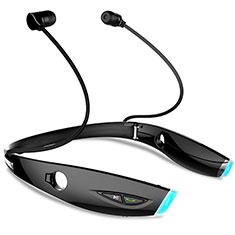 Auriculares Bluetooth Auricular Estereo Inalambricos H52 para Apple MacBook 12 Negro