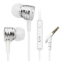 Auriculares Estereo Auricular H24 para Sony Xperia XA3 Plata