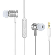 Auriculares Estereo Auricular H31 para Sony Xperia XA3 Plata
