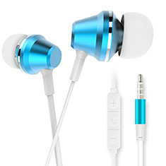Auriculares Estereo Auricular H37 para Apple iPhone 12 Mini Azul