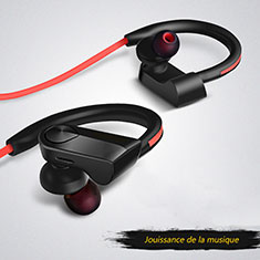 Auriculares Estereo Bluetooth Auricular Inalambricos H53 para Apple MacBook Air 13 2020 Negro