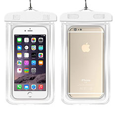 Bolsa Impermeable y Sumergible Carcasa Universal W01 para Apple iPhone 11 Blanco