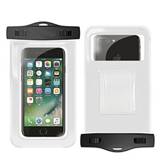 Bolsa Impermeable y Sumergible Carcasa Universal W02 para Apple iPhone 11 Blanco
