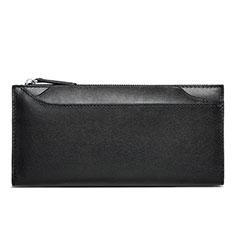 Bolso Cartera Protectora de Cuero Universal H30 para LG K92 5G Negro