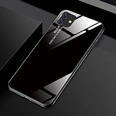 Carcasa Bumper Funda Silicona Espejo Gradiente Arco iris H01 para Apple iPhone 11 Negro