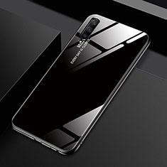 Carcasa Bumper Funda Silicona Espejo Gradiente Arco iris para Huawei Honor 9X Pro Negro
