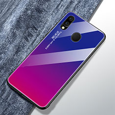 Carcasa Bumper Funda Silicona Espejo Gradiente Arco iris para Samsung Galaxy A40 Multicolor