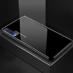 Carcasa Bumper Funda Silicona Espejo Gradiente Arco iris para Xiaomi Mi 9 Pro 5G Negro