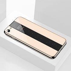 Carcasa Bumper Funda Silicona Espejo M01 para Apple iPhone 6S Oro