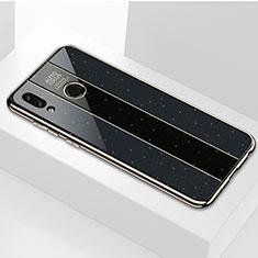 Carcasa Bumper Funda Silicona Espejo M01 para Huawei P Smart (2019) Negro