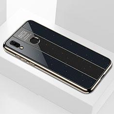 Carcasa Bumper Funda Silicona Espejo M01 para Huawei P Smart+ Plus Negro