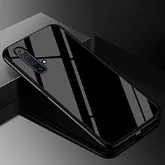 Carcasa Bumper Funda Silicona Espejo M01 para Realme X3 SuperZoom Negro