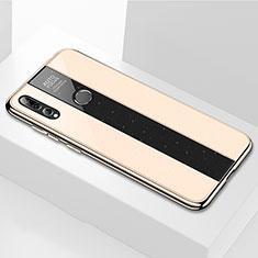Carcasa Bumper Funda Silicona Espejo M02 para Huawei Enjoy 9s Oro