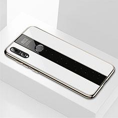 Carcasa Bumper Funda Silicona Espejo M02 para Huawei Honor 20 Lite Blanco