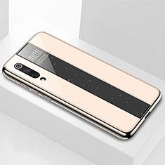 Carcasa Bumper Funda Silicona Espejo M02 para Xiaomi Mi 9 Pro 5G Oro