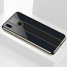 Carcasa Bumper Funda Silicona Espejo M03 para Huawei P20 Lite Negro