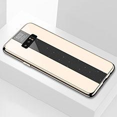 Carcasa Bumper Funda Silicona Espejo M03 para Samsung Galaxy Note 8 Duos N950F Oro