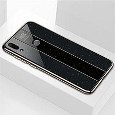Carcasa Bumper Funda Silicona Espejo M04 para Huawei Enjoy 9 Plus Negro