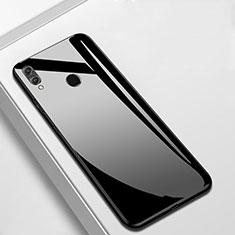 Carcasa Bumper Funda Silicona Espejo M05 para Huawei Enjoy 9 Plus Negro
