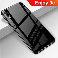 Carcasa Bumper Funda Silicona Espejo para Huawei Enjoy 9e Negro