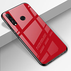 Carcasa Bumper Funda Silicona Espejo para Huawei Enjoy 9s Rojo