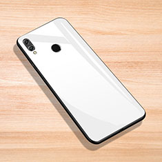 Carcasa Bumper Funda Silicona Espejo para Huawei Enjoy Max Blanco