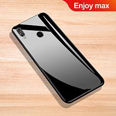 Carcasa Bumper Funda Silicona Espejo para Huawei Enjoy Max Negro