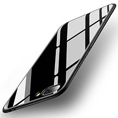 Carcasa Bumper Funda Silicona Espejo para Huawei Honor 10 Negro