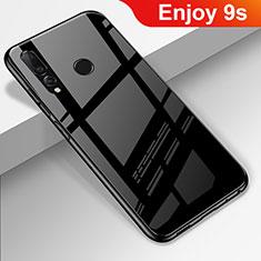 Carcasa Bumper Funda Silicona Espejo para Huawei Honor 20 Lite Negro