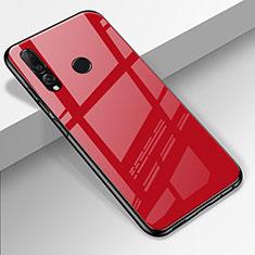Carcasa Bumper Funda Silicona Espejo para Huawei Honor 20 Lite Rojo